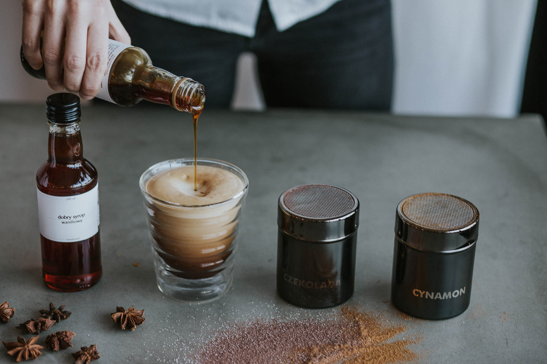 syropy do kawy