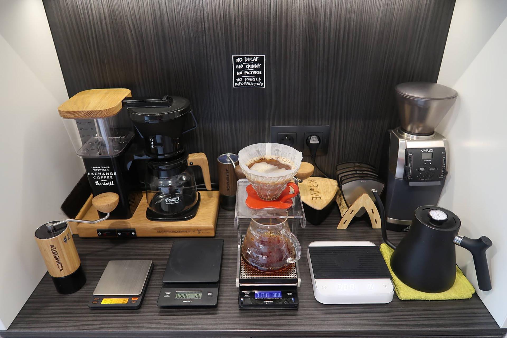 waga do kawy