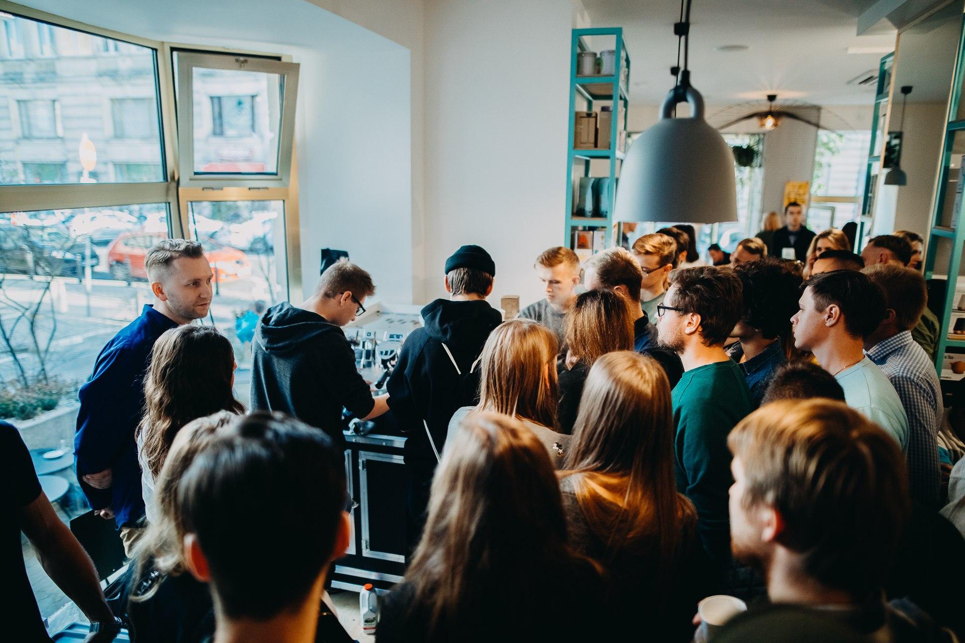 promocja kawiarni