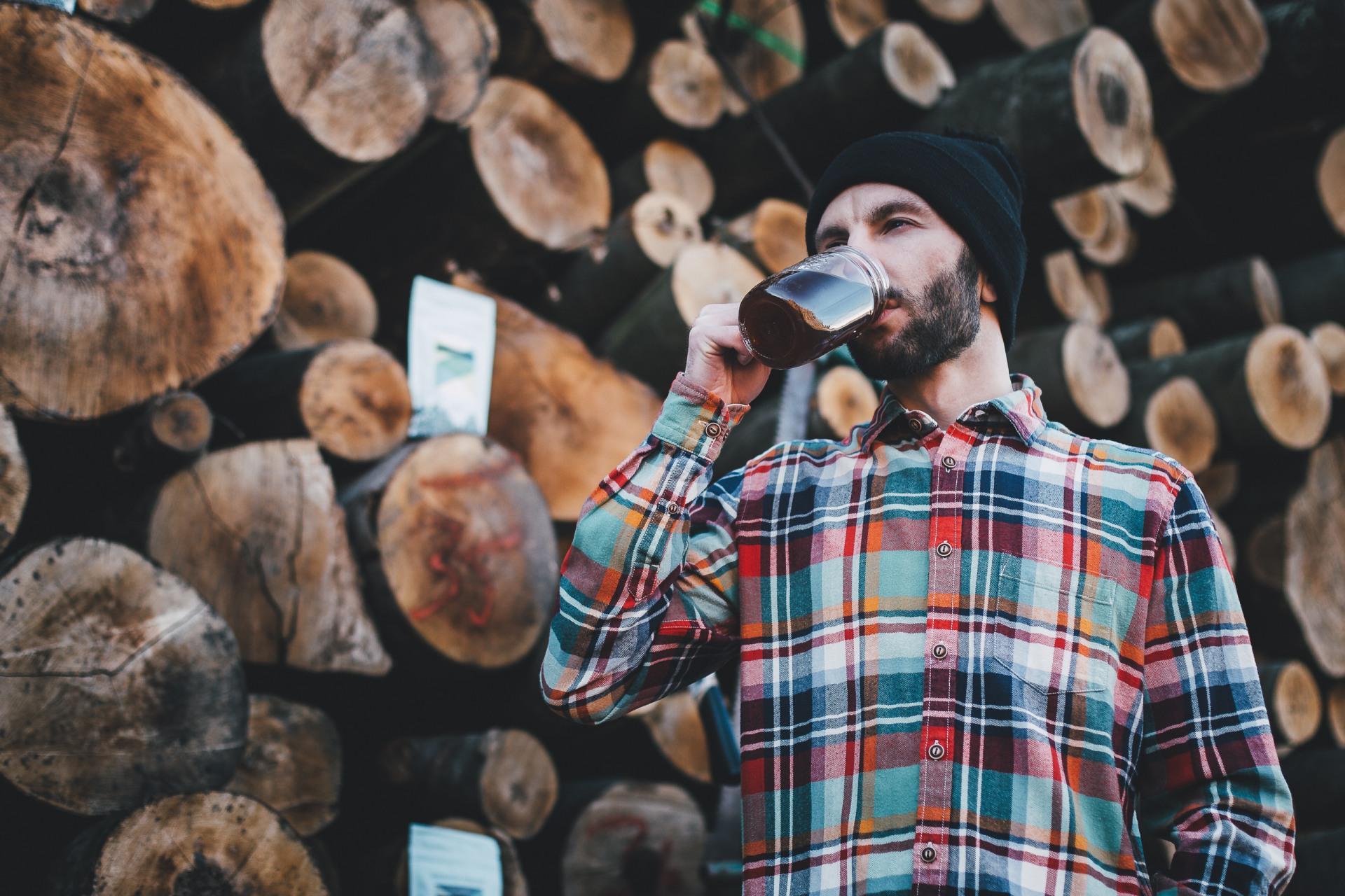 hygge jesień kawa
