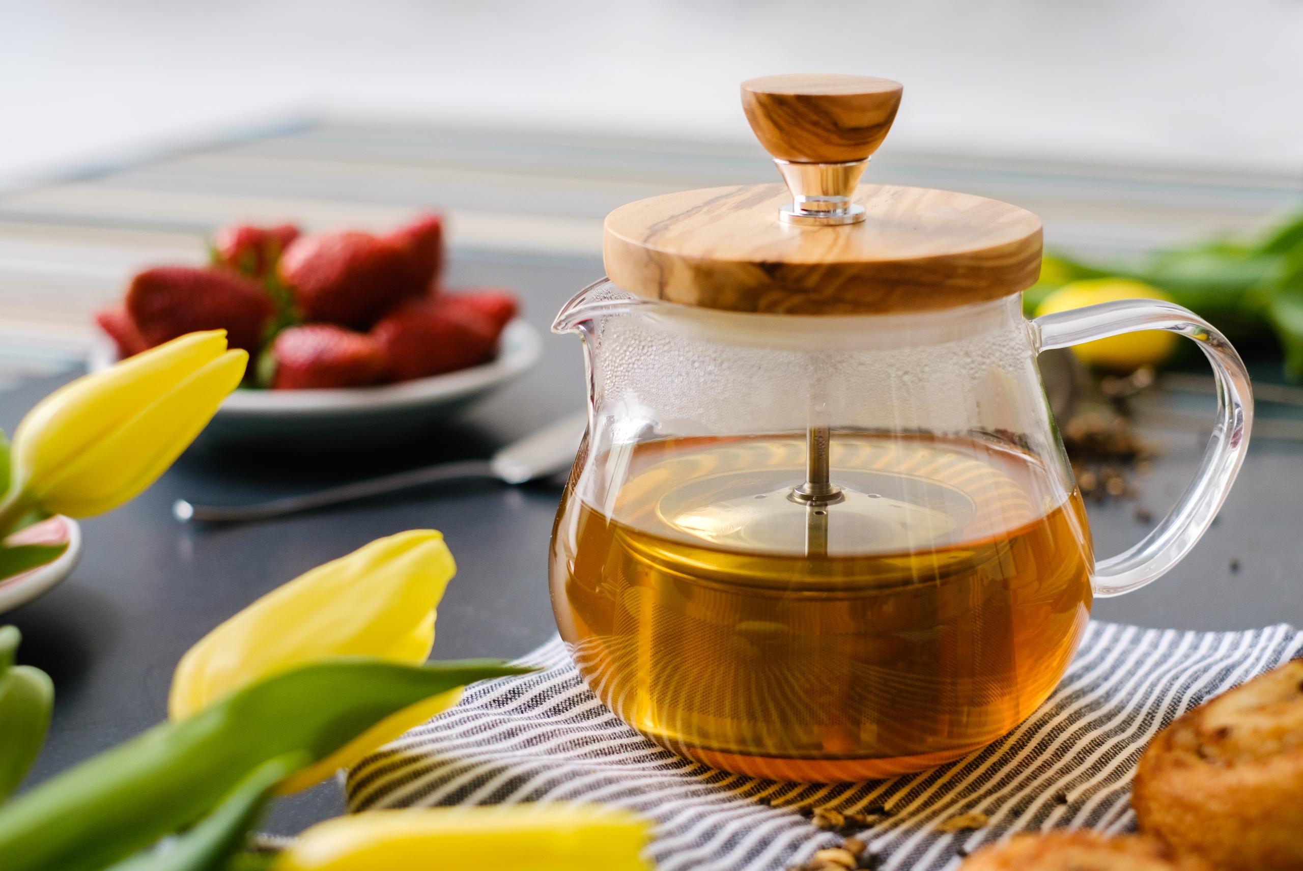 Hario, herbata, rooibos, olive wood