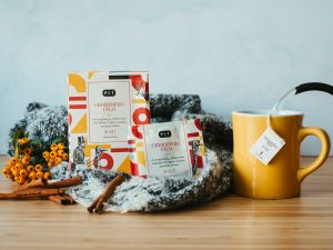 Autumn inspired warming infusions