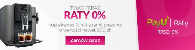 Ekspresy Jura z ratami 0%!