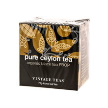 Vintage Teas Pure Ceylon Tea - Black Tea FBOP 70g (outlet)