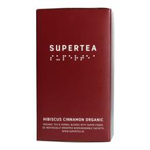 Teministeriet - Supertea Hibiscus Cinnamon Organic - Herbata 20 Torebek