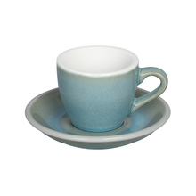 Loveramics Egg - Filiżanka i spodek Espresso 80 ml - Ice Blue