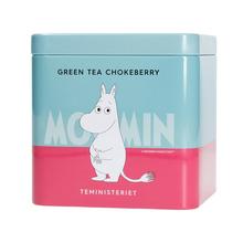 Moomin Green Tea Chokeberries 100g (outlet)