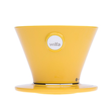 Wilfa Pour Over Yellow - WSPO-Y - Żółty Dripper