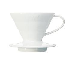 Hario ceramiczny Drip V60-01 Biały (outlet)