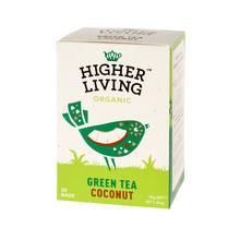 Higher Living Green Tea Coconut - herbata - 20 saszetek