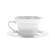 Hario V60 Ceramic Cup and Saucer - Filiżanka ze spodkiem 150 ml