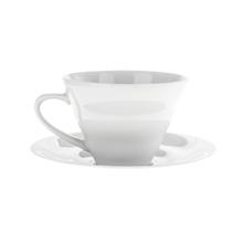 Hario V60 Ceramic Cup and Saucer - Filiżanka ze spodkiem 150 ml