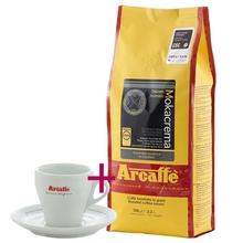Zestaw: Arcaffe Mokacrema 1kg + Filiżanka do cappuccino