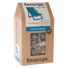 teapigs Lemon & Ginger 50 piramidek