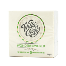 Willie's Cacao - Zestaw 5 czekolad - Wonders of the World x 5 - 250g