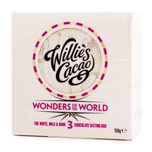 Willie's Cacao - Zestaw 3 czekolad - Wonders of the World x 3 - 150g (outlet)