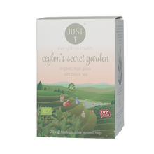 Just T Ceylon's Secret Garden - 20 piramidek (outlet)