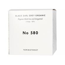 Teministeriet - 580 Black Earl Grey Organic - Herbata Sypana 100g