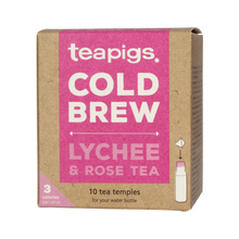 teapigs Lychee & Rose - Cold Brew 10 piramidek