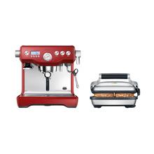 Zestaw Sage Dual Boiler Czerwony + Grill elektryczny za 1zł