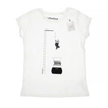 Koszulka Coffeedesk Chemex Biała - Damska M