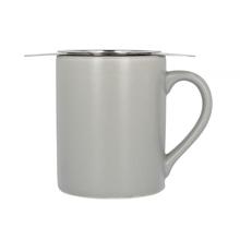 Paper & Tea - Szary kubek z zaparzaczem do herbaty