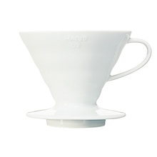Hario ceramiczny Drip V60-02 Biały (outlet)