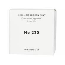 Teministeriet - 220 Green Moroccan Mint - Herbata Sypana 100g - Opakowanie Uzupełniające