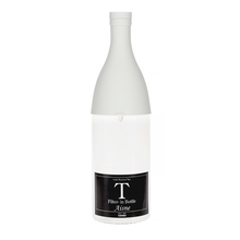 Hario Aisne - butelka z filtrem Cold Brew Tea - szara