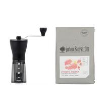 Zestaw Młynek Hario + Kawa