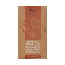 Manufaktura Czekolady - Czekolada MANU 43% - Piernikowa