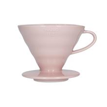 Hario ceramiczny Drip V60-02 Różowy |VDC-02-PPR-UEX| (outlet)