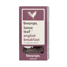 teapigs Organic English Breakfast herbata sypana 100 g (outlet)