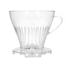 Melitta plastikowy dripper do kawy 1x4 z łyżką (outlet)