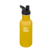 Klean Kanteen - Butelka Classic Sport - Lemon Curry 532ml