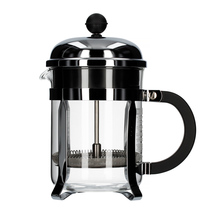 Bodum Chambord French Press 4 cup - 500 ml Srebrny
