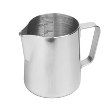 Rhinowares Stainless Steel Pro Pitcher dzbanek srebrny 360 ml (outlet)