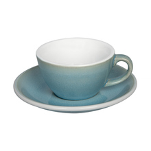 Loveramics Egg - Filiżanka i spodek Flat White 150 ml - Ice Blue