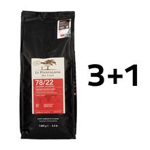 3+1 Gratis: Le Piantagioni del Caffe 78/22 1kg
