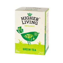 Higher Living Green Tea - herbata - 20 saszetek