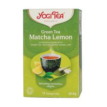 Yogi Tea - Green Tea Matcha Lemon - Herbata 17 Torebek