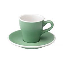 Loveramics Tulip - Filiżanka i spodek Espresso 80 ml - Mint