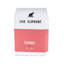 Five Elephant - Kenya Tekangu