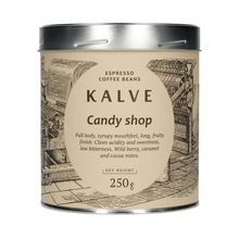 Kalve Candy Shop Blend ESP 250g, kawa ziarnista (outlet)
