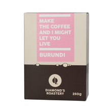 Diamonds Roastery - Burundi Kibingo Natural
