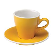 Loveramics Tulip - Filiżanka i spodek Cappuccino 180 ml - Yellow