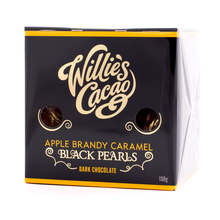 Willie's Cacao - Czekoladki - Apple Brandy Caramel Black Pearls 150g