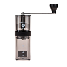 Hario Coffee Mill Smart G Transparent Black (outlet)