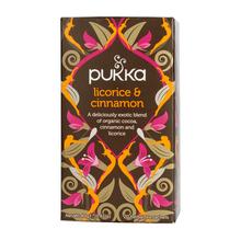 Pukka - Licorice & Cinnamon BIO - Herbata 20 saszetek