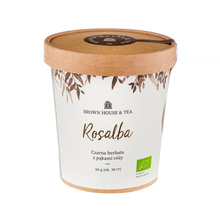 Brown House & Tea - Rosalba - Herbata sypana 60g